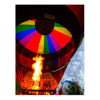 Hot Air Balloons Postcard