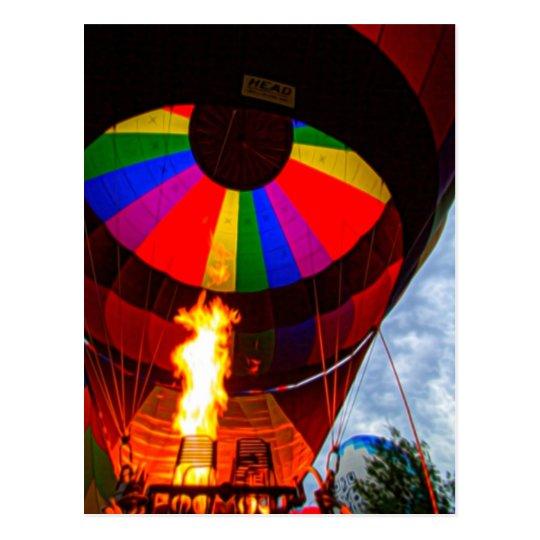 Hot Air Balloons Postcard