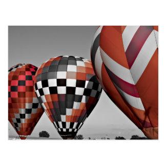 Hot Air balloons Post Card