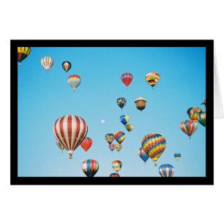 Hot Air Balloons- Song of Sol. 2:3 Greeting Card