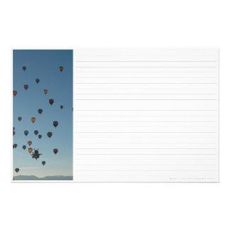 Hot Air Balloons Stationery