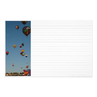 Hot Air Balloons Stationery