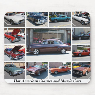 Hot American Classics and Muscle Cars 10 Mouse Pad
