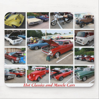 Hot American Classics and Muscle Cars 7 Mouse Pad