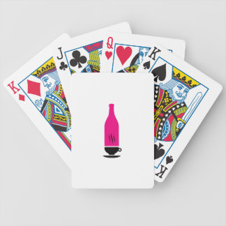 Hot and cold drink graphic card deck