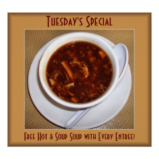 Hot and Sour Soup Special Poster