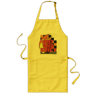 Hot and Spicy. Long Apron