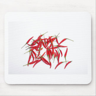 Hot and spicy chillies mousepads