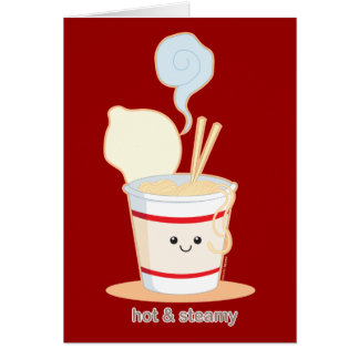 Hot and Steamy Greeting Card