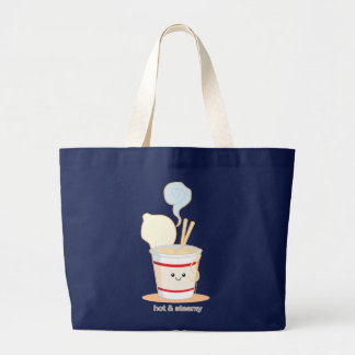 Hot and Steamy Large Tote Bag