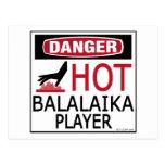 Hot Balalaika Player Postcards