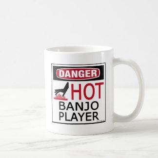 Hot Banjo Player Coffee Mug