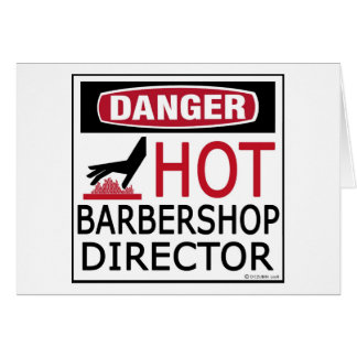 Hot Barbershop Director Card
