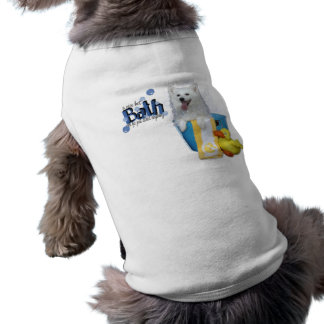 Hot Bath - American Eskimo - Maya Dog Clothing