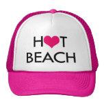 HOT BEACH trucker hat