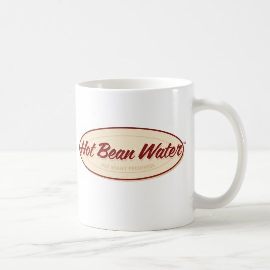 """Hot Bean Water"" Mug - Happy Canada Day!"