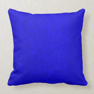 Hot Blue Mosaic Tiles, Large Throw Cushion. Cushion