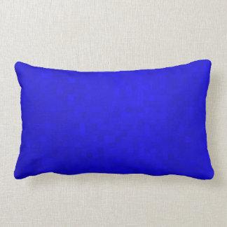 Hot Blue Mosaic Tiles,  Lumbar Cushion. Lumbar Cushion
