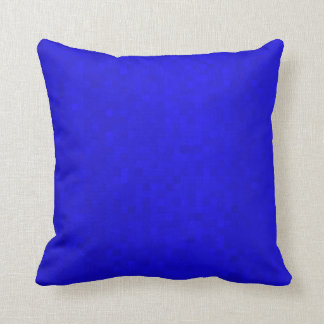 Hot Blue Mosaic Tiles, Throw Cushion. Cushion