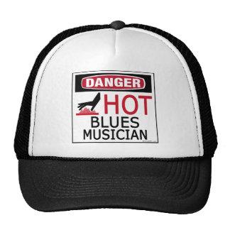 Hot Blues Musician Trucker Hats