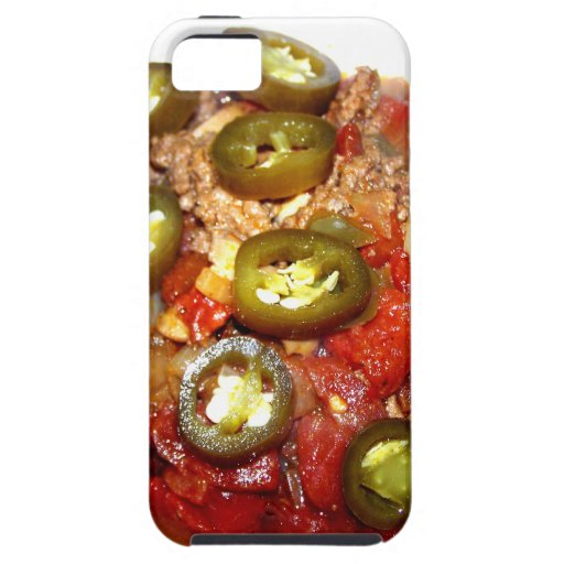 Hot Bowl of Chili on a Cold Night iPhone 5 Cases