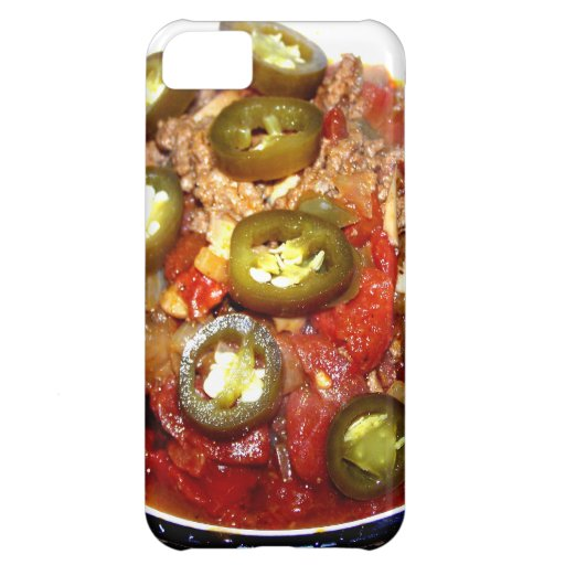 Hot Bowl of Chili on a Cold Night iPhone 5C Cases