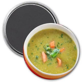 Hot Bowl of Soup Refrigerator Magnet