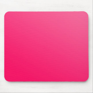 Hot Bright Neon Pink Mousepad