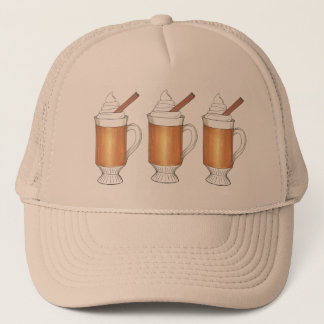 Hot Buttered Rum Winter Holiday Christmas Hat