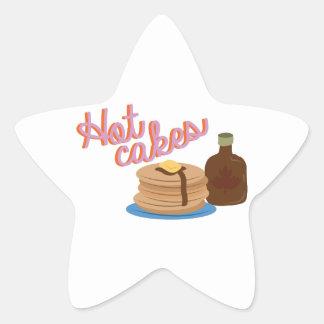 Hot Cakes Star Sticker