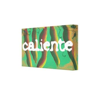 Hot Caliente Jalapeno Peppers Canvas Prints