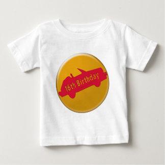 Hot Car 16th Birthday Gifts Tee Shirt