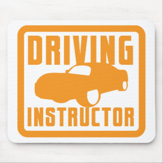 Hot car DRIVING instructor Mouse Pad