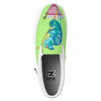 hot chameleon Slip-On shoes