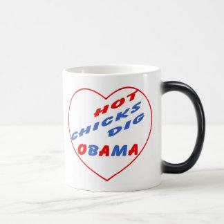 Hot Chicks Dig Obama Souvenir Coffee Mug