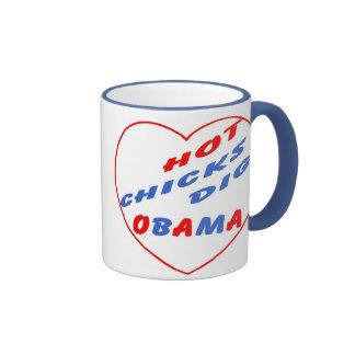 Hot Chicks Dig Obama Souvenir Mugs