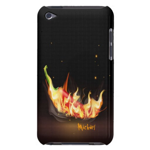 Hot Chili Pepper iPod Case Barely There iPod Covers