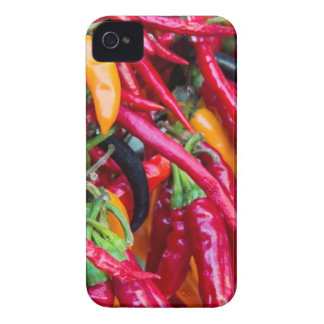 Hot Chili Peppers At Farmers Market In Madison iPhone 4 Covers