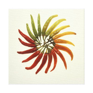 Hot Chili Peppers Stretched Canvas Prints