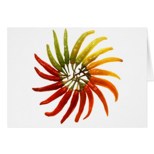 Hot Chili Peppers Greeting Cards
