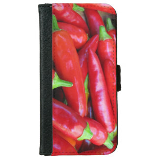 Hot Chili Peppers iPhone 6 Wallet Case