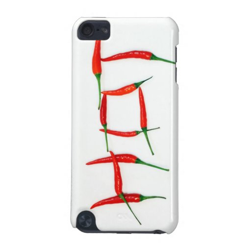 """Hot"" chili peppers street iPod Touch case"