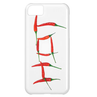 """Hot"" chili peppers top street foodie chef iPhone iPhone 5C Covers"