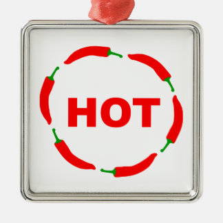 Hot chilies! christmas ornament