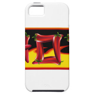 Hot Chilies Text iPhone 5 Cover