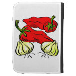Hot Chilli Pepper and Onion Graphic Case For Kindle