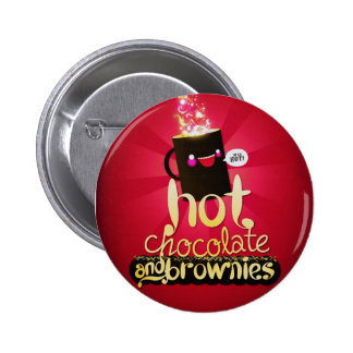 Hot Chocolate and Brownies Pins