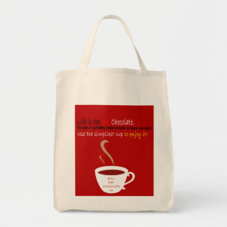 Hot Chocolate Tote Bags