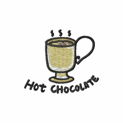 Hot chocolate (black outline)