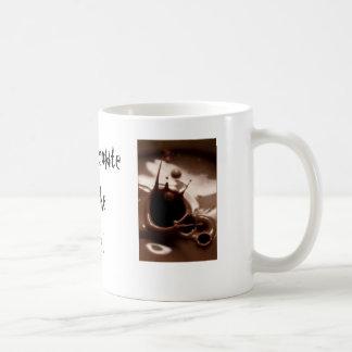 Hot Chocolate By The Fire! Basic White Mug